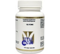 Glycine 500 mg, Vital Cell Life, 100ca
