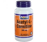 Acetyl L-Carnitine 500 mg, NOW, 50vc