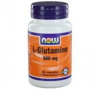 L-Glutamine 500 mg, NOW, 60ca