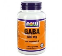 GABA 500 mg, NOW, 100ca