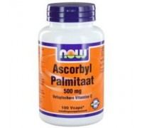 Ascorbyl palmitaat 500 mg, NOW, 100vc