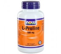 L-Proline 500 mg, NOW, 120vc