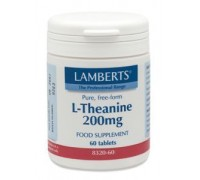 L-Theanine 200 mg, Lamberts, 60tb