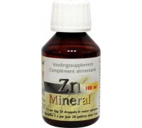 ZN Zink mineral ion, Herborist, 100ml