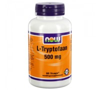L-Tryptofaan 500 mg, NOW, 60sft