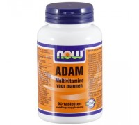 Adam multivitamine voor mannen, NOW, 60tb