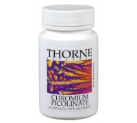Chromium picolinate 500 mcg, Thorne, 60ca