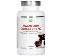 Magnesium citraat 200 mg, Nutrivian, 200tb