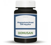 Magnesiumcitraat 150 mg plus, Bonusan, 60tb