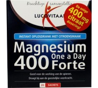 Magnesium 400 forte, Lucovitaal, 20sach